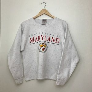 University of Maryland Crewneck Sweatshirt